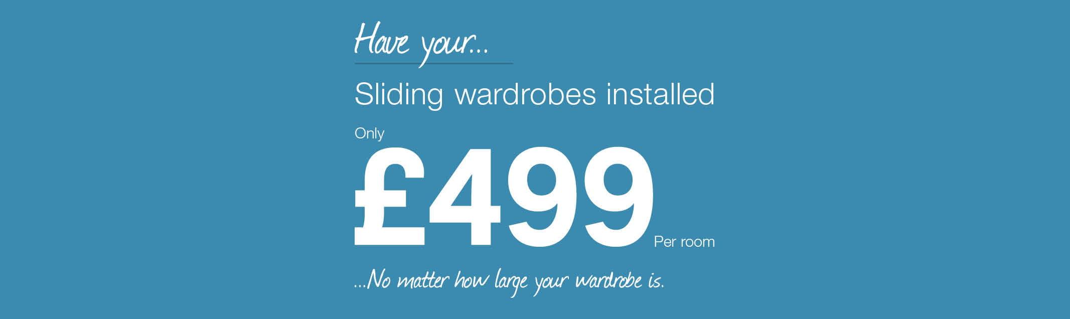 Fitted Wardrobe Closet Installation Homebase Sliding