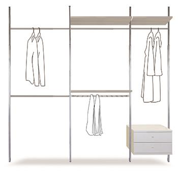 Wardrobe Closet Storage Systems Amp Solutions Homebase