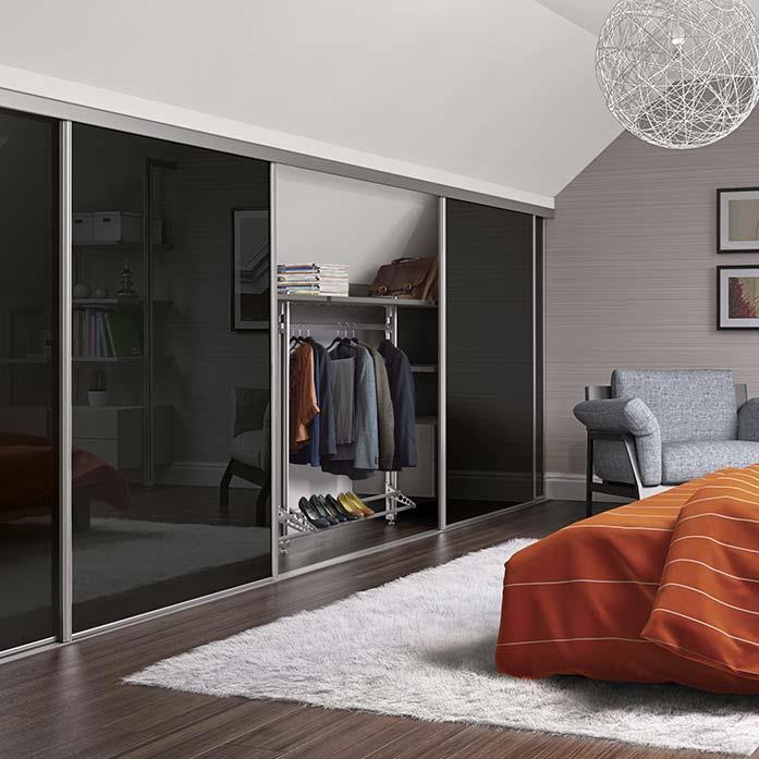 Loft Wardrobe Doors Homebase Sliding Doors Space Pro