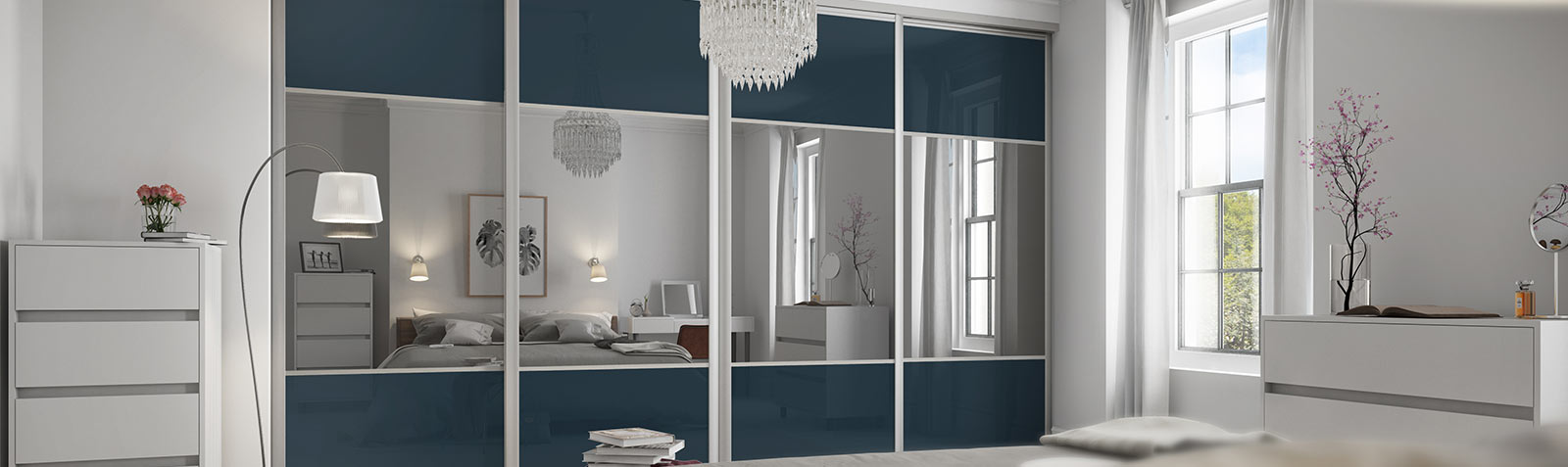 Elipse Sliding wardrobe doors